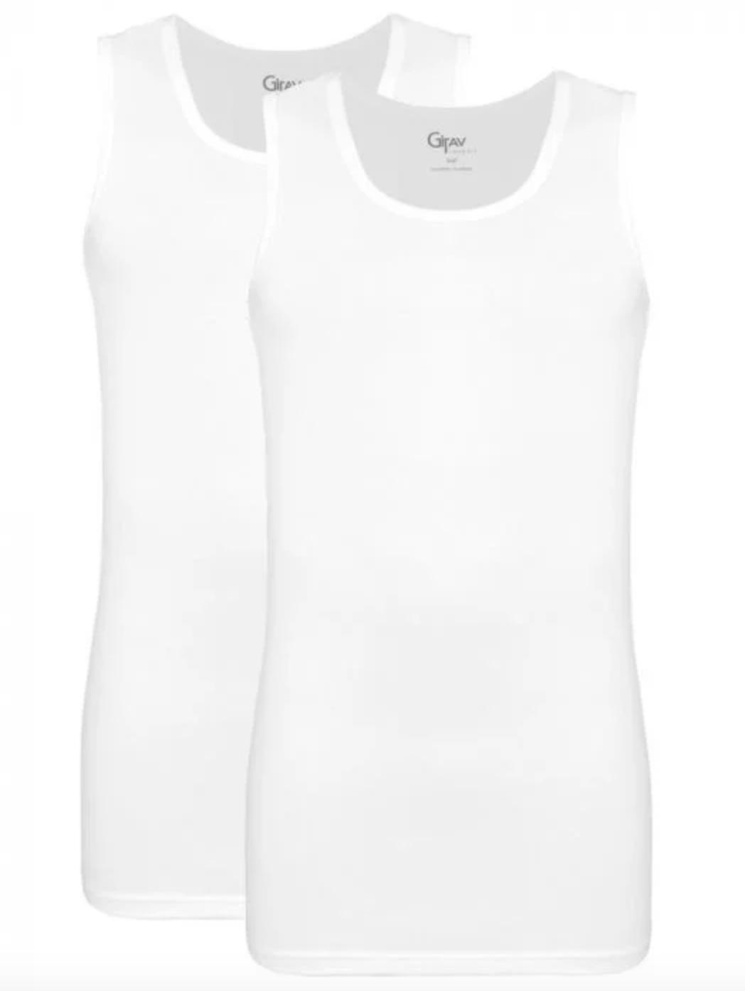 V-neck t-shirts singlet