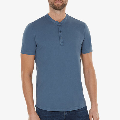 Miami Henley, Jeans Blau