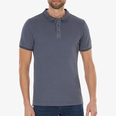 Mallorca Poloshirt, Stone Blue