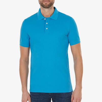 Marbella Slim Fit Poloshirt, Swedish blue