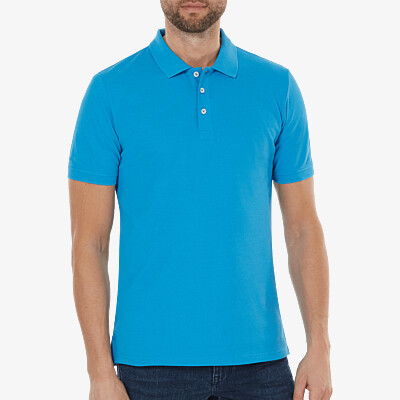 Madrid Poloshirt, Swedish Blue