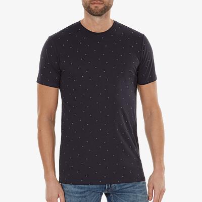 Valencia T-shirt, Dunkelblau