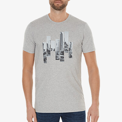 The City - Los Angeles, Graumeliert