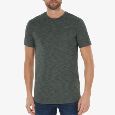 Altea T-shirt, Metallgrün