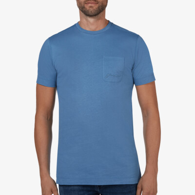 Preston *Limited Edition* T-Shirt, Jeans blue