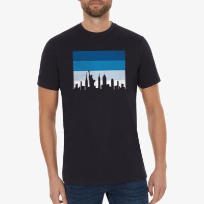 the City - New York, Dunkelblau