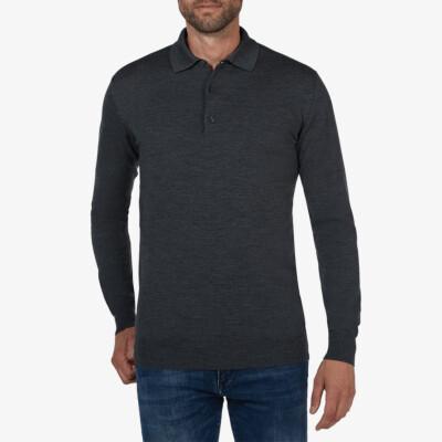 Wellington polo pullover, Antracite