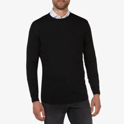 Ontario Crewneck pullover, Black