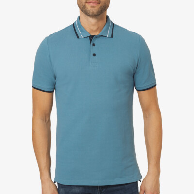Granada Poloshirt, Provincial Blue