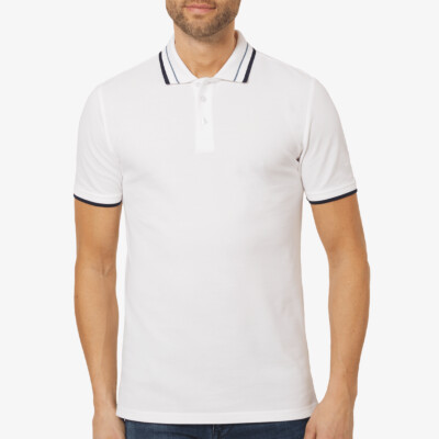 Granada Poloshirt, White