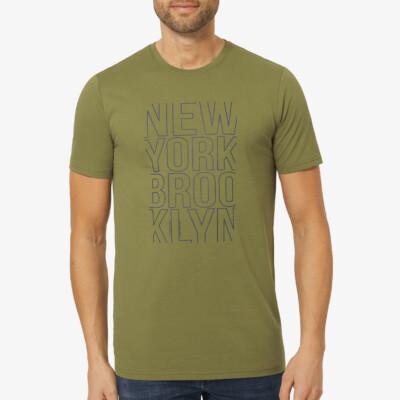 girav-extra-lang-t-shirt-met-print-blauw-grijs-city-america