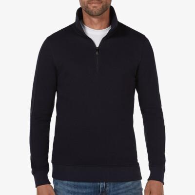 Yale, Sweatshirt mit Reißverschluss, Navy