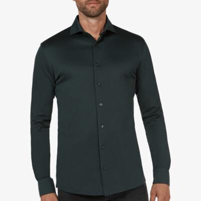 Bergamo Jersey Hemd, Dunkelgrün
