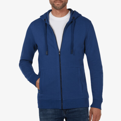Denver Full Zip hoodie, Estate blue