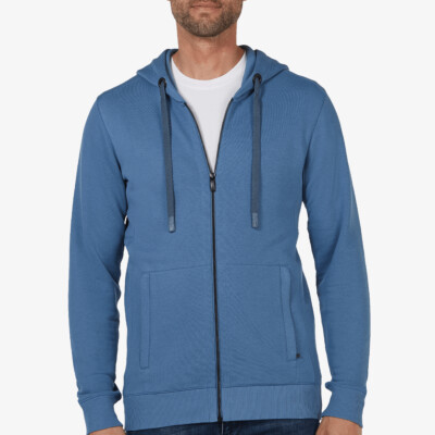 Denver Full Zip hoodie, Jeans blue