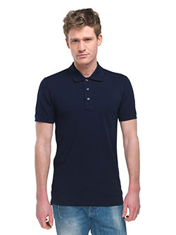 Langes Poloshirt für Herren
