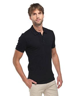 Extra langes Poloshirt für Männer