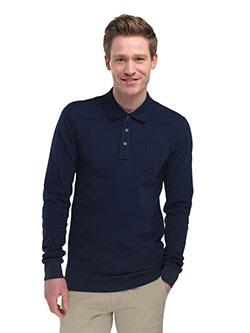 Poloshirt langarm für Männer